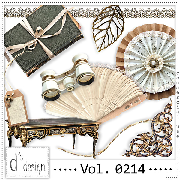Vol. 0214 Vintage Mix by Doudou Design