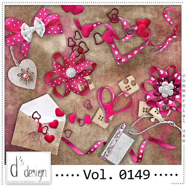 Vol. 0149 Love Mix by Doudou Design