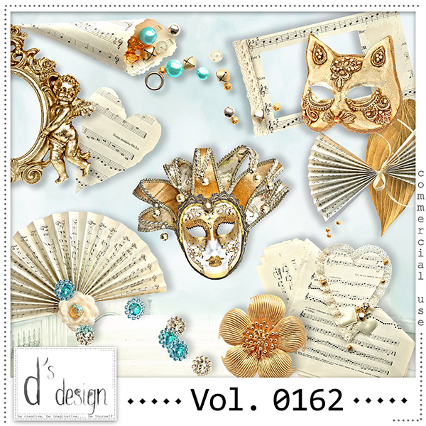 Vol. 0162 Music & Masquerade Mix by Doudou Design