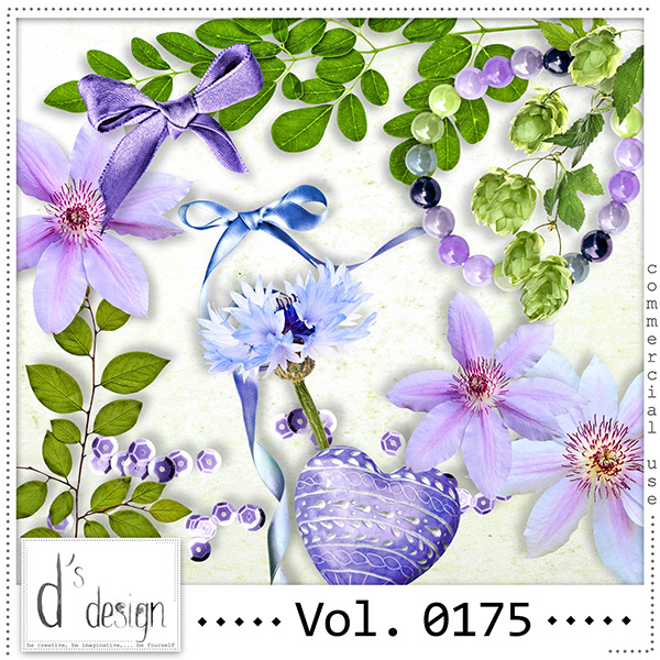 Vol. 0175 Spring Nature Mix by Doudou Design