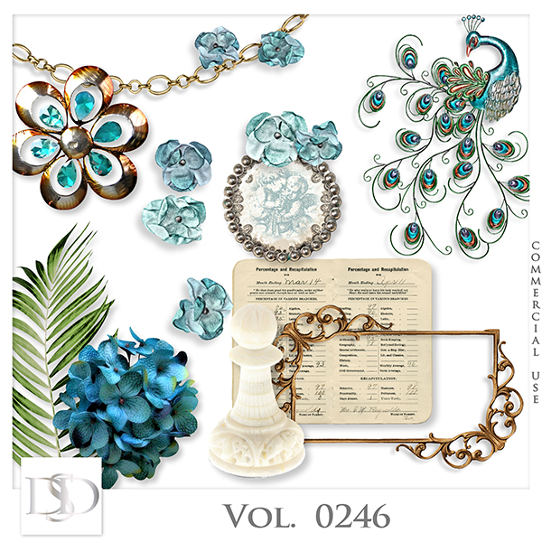 Vol. 0246 Vintage Mix by Doudou Design