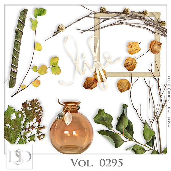 Vol. 0295 Autumn Nature Mix by D's Design