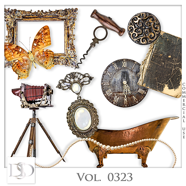 Vol. 0323 Vintage Mix by D's Design