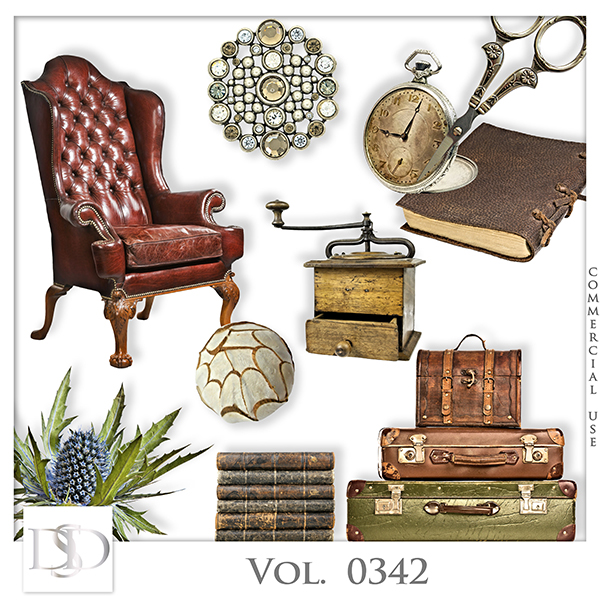 Vol. 0342 Vintage Mix by D's Design