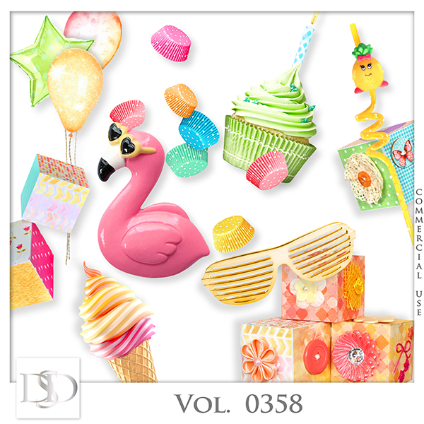 Vol. 0358 Party Mix by D's Design
