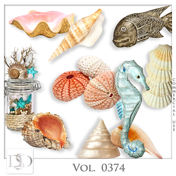 Vol. 0374 Sea Mix by D's Design