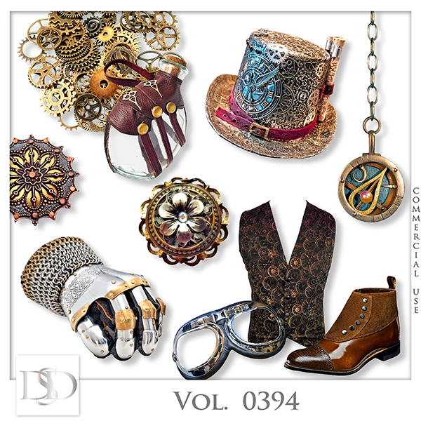 Vol. 0394 Steampunk Mix by D's Design
