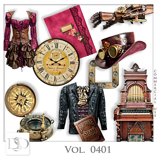 Vol. 0401 Steampunk Mix by D's Desig