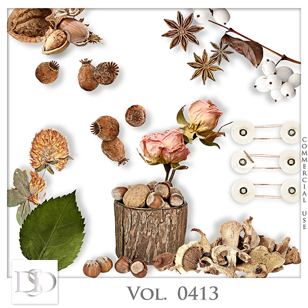 Vol. 0413 Nature Autumn Mix by D's Design