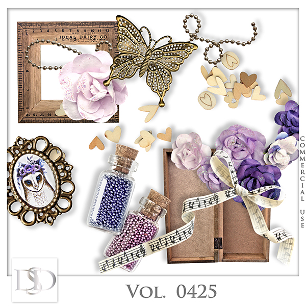 Vol. 0425 Vintage Mix by D's Design