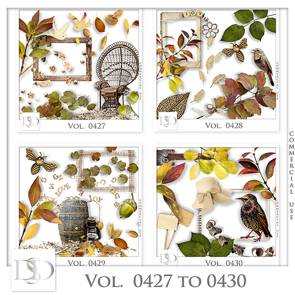 Vol. 0427 to 0430 Nature Mix by D's Design