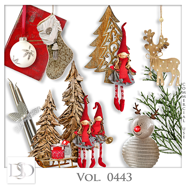Vol. 0443 Winter Christmas Mix by D's Design