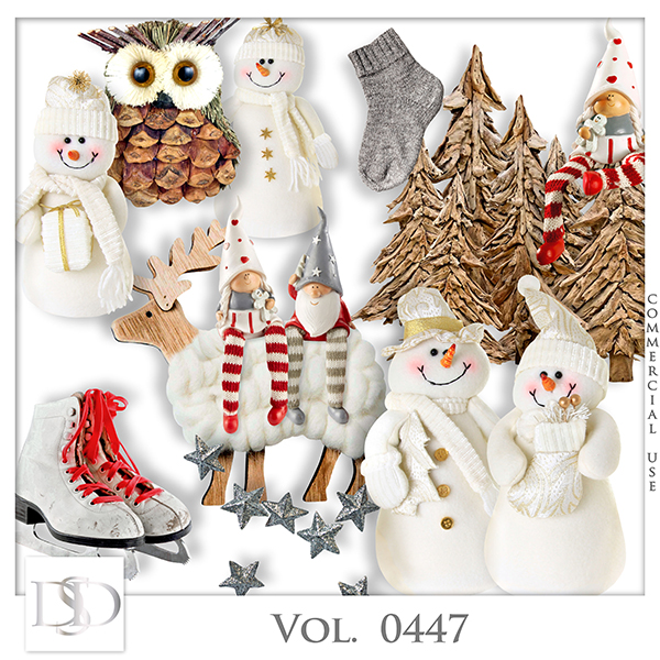Vol. 0447 Winter Christmas Mix by D's Design