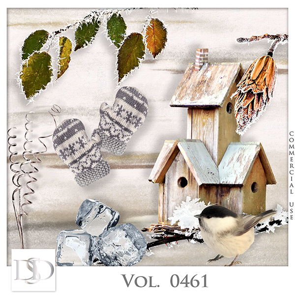 Vol. 0461 Winter Mix by D's Design