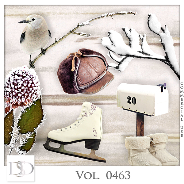 Vol. 0463 Winter Mix by D's Design