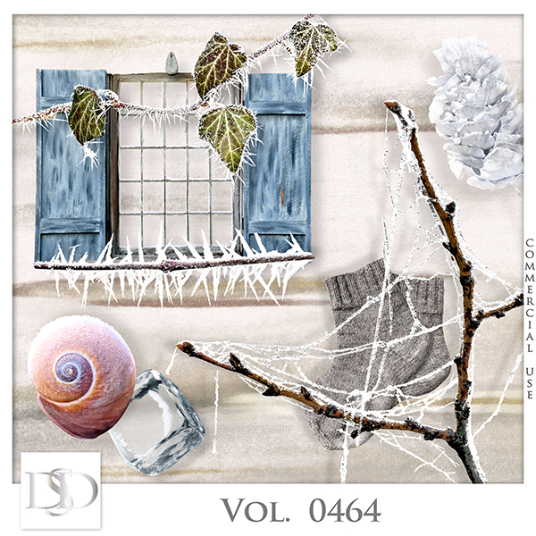 Vol. 0464 Winter Mix by D's Design