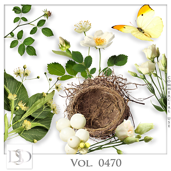 Vol. 0470 Spring Nature Mix by D's Design