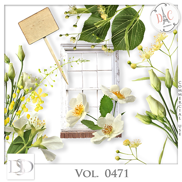 Vol. 0471 Spring Nature Mix by D's Design