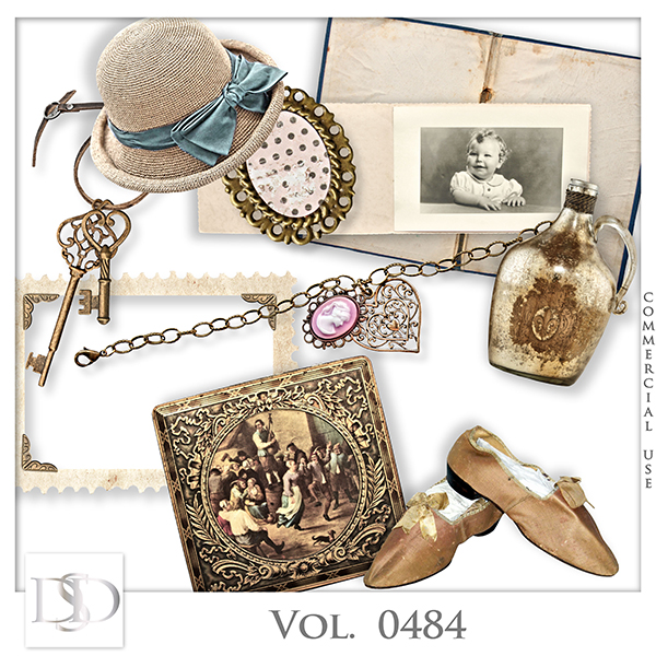 Vol. 0484 Vintage Mix by D's Design