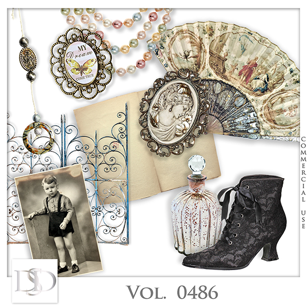 Vol. 0486 Vintage Mix by D's Design