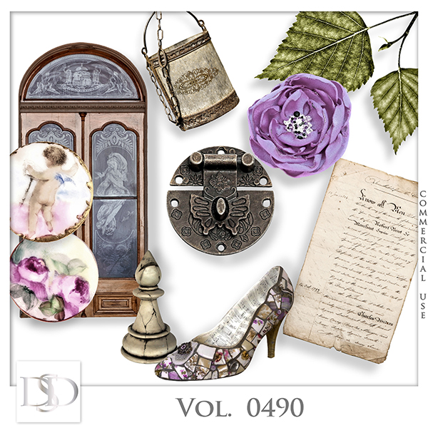 Vol. 0490 Vintage Mix by D's Design