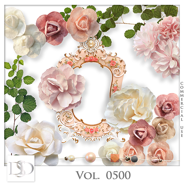 Vol. 0500 Floral Mix by D's Design