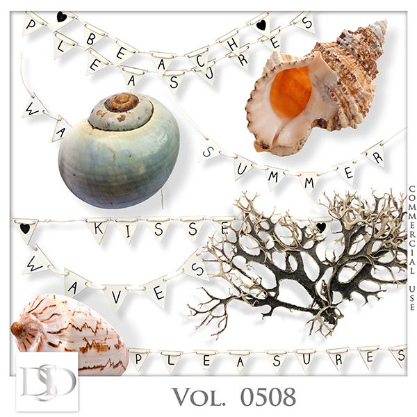 Vol. 0508 Summer Sea Mix by D's Design