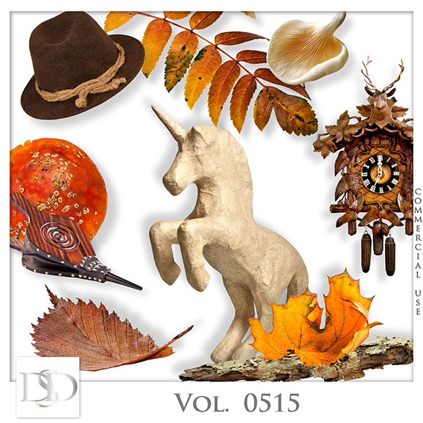 Vol. 0515 Autumn Nature Mix by D's Design