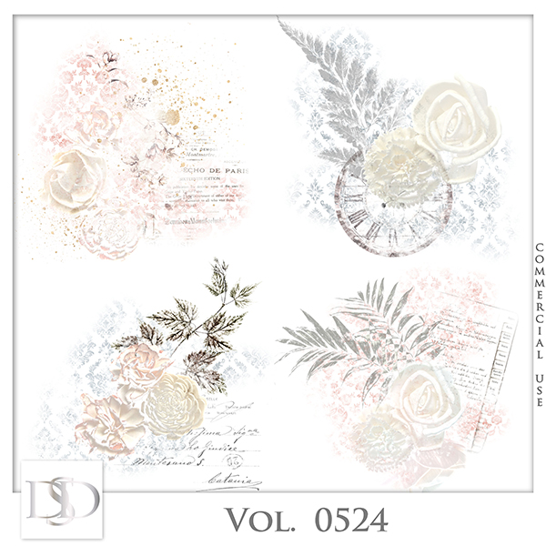 Vol. 0524 Vintage Accents by D's Design