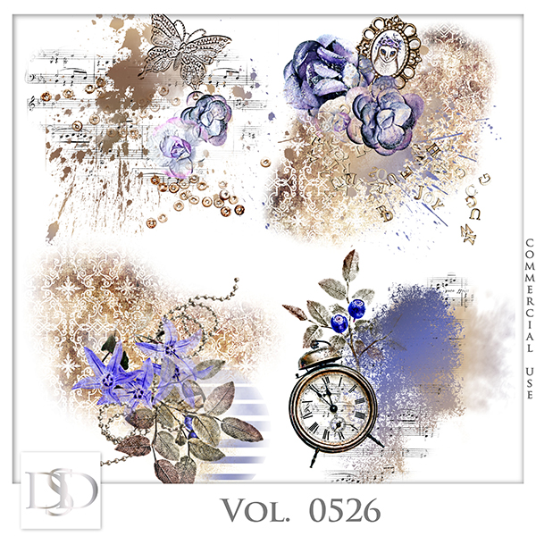 Vol. 0526 Vintage Accents by D's Design