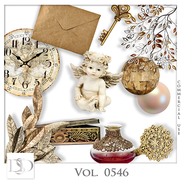 Vol. 0546 Vintage Mix by D's Design