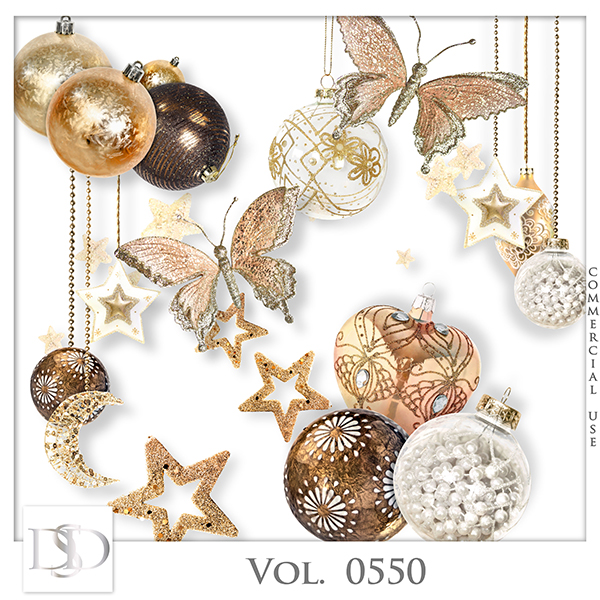 Vol. 0550 Christmas Mix by D's Design