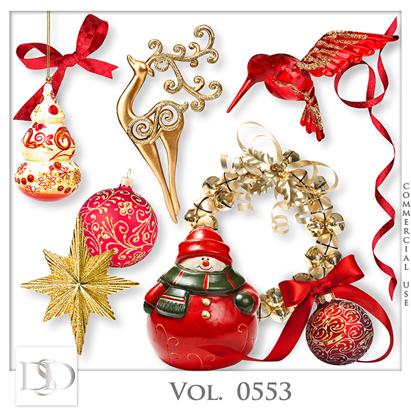 Vol. 0553 Christmas Mix by D's Design