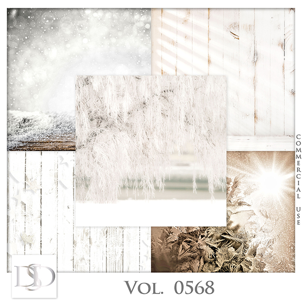 Vol. 0568 Winter Papers by D's Design