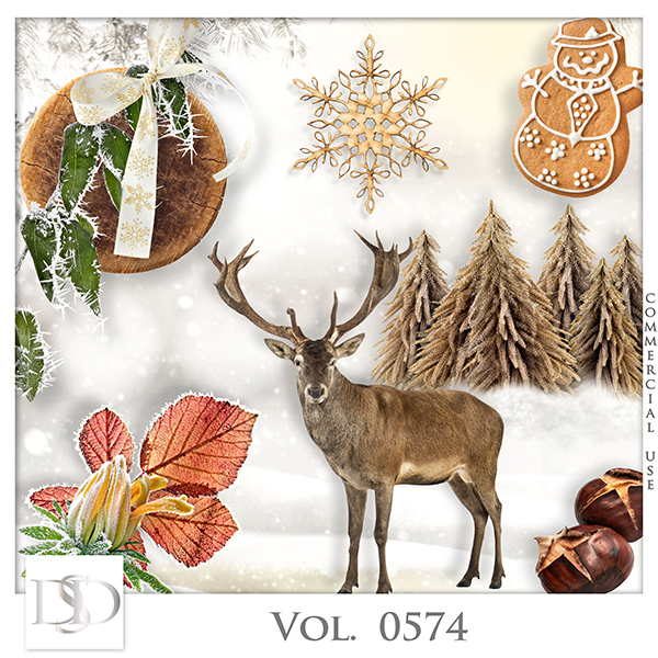 Vol. 0574 Winter Mix by D's Design