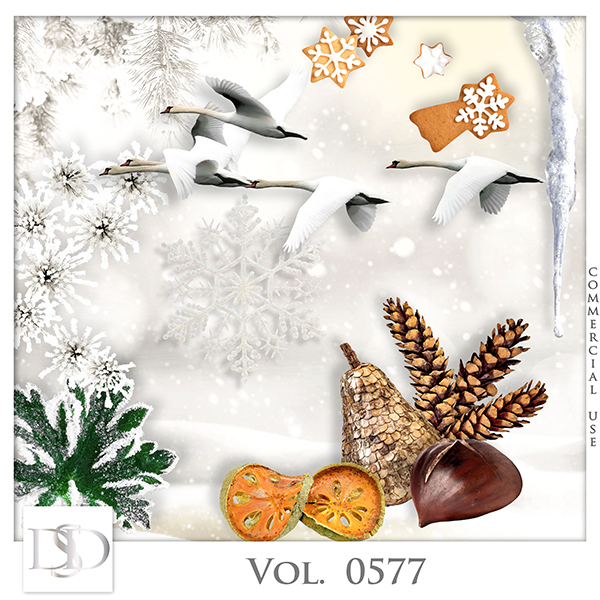 Vol. 0577 Winter Mix by D's Design