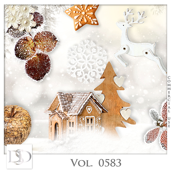 Vol. 0583 Winter Mix by D's Design