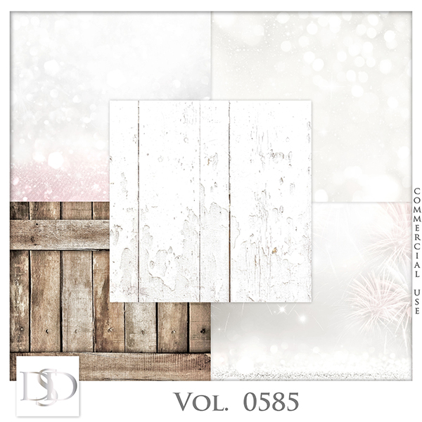 Vol. 0585 Winter Papers by D's Design