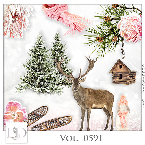 Vol. 0591 Winter Mix by D's Design