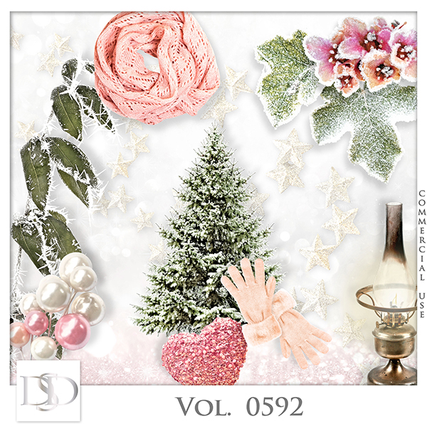 Vol. 0592 Winter Mix by D's Design