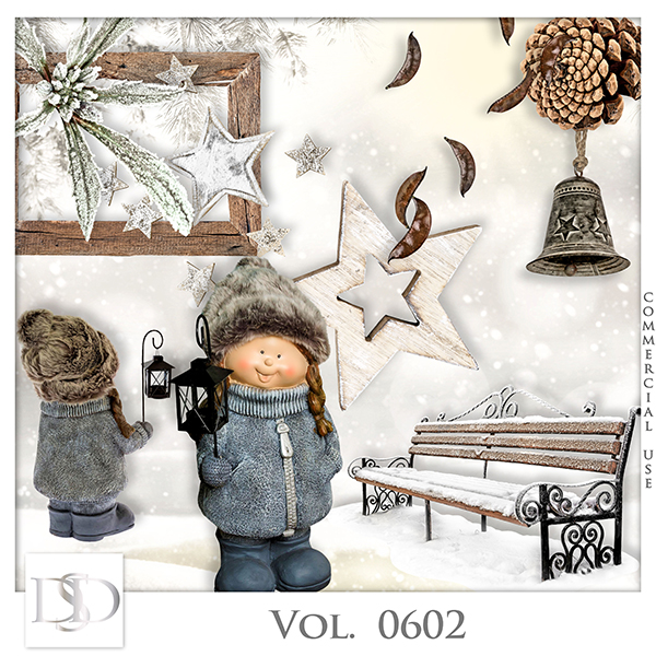 Vol. 0602 Winter Mix by D's Design
