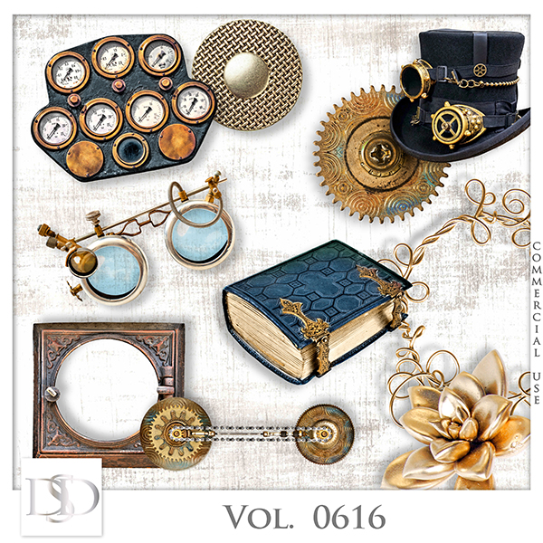 Vol. 0616 Steampunk Mix by D's Design