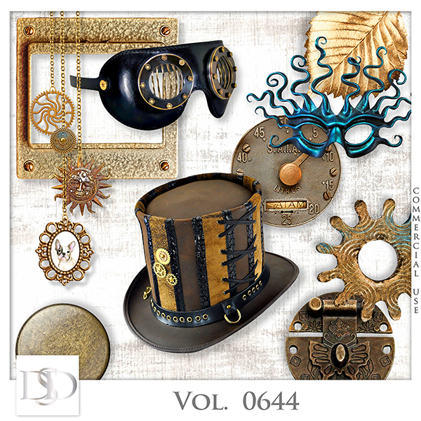 Vol. 0644 Steampunk Mix by D's Design
