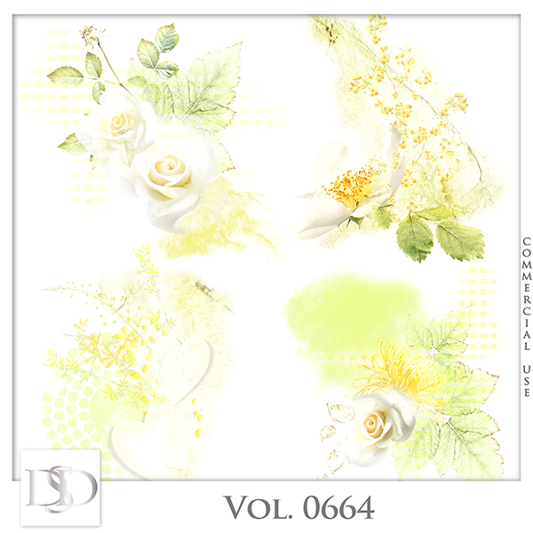 Vol. 0664 Nature Floral Accents by D's Design