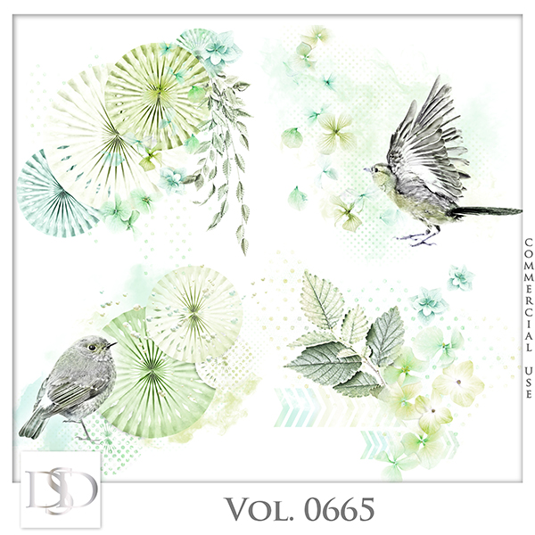 Vol. 0665 Nature Floral Accents by D's Design