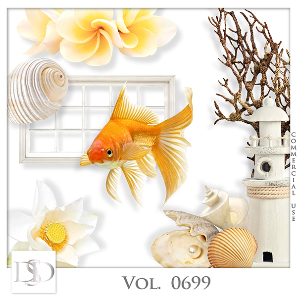 Vol. 0699 Summer Sea Mix by D's Design