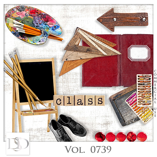 Vol. 0739 School Mix by D's Design