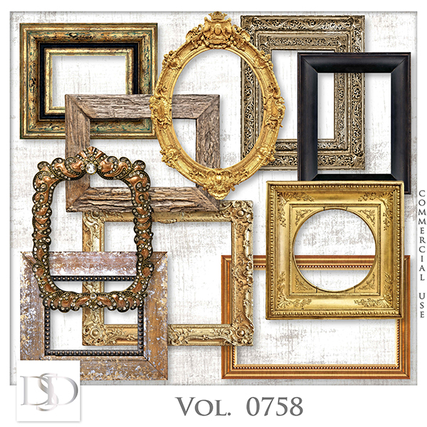 Vol. 0758 Frames Mix by D's Design