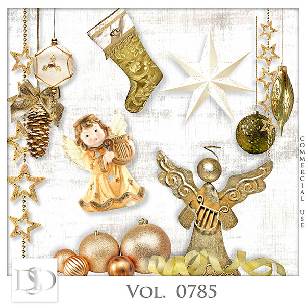 Vol. 0785 Winter Christmas Mix by D's Design