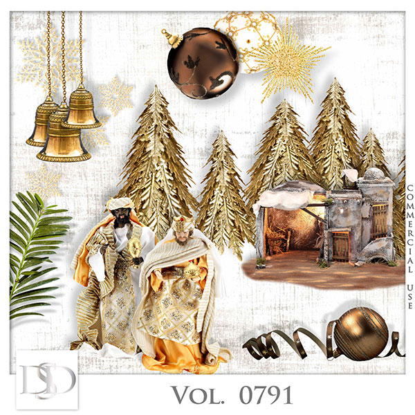 Vol. 0791 Christmas Nativity Mix by D's Design